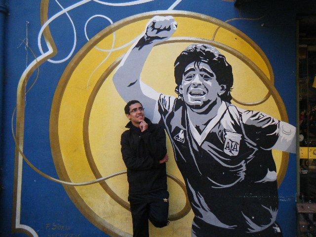 Khaled Maatallah _ Maradona @ BsAs Argentina