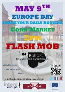 FLASH MOB_Belfast 9th May 2015